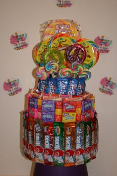 Candy Carnival Tower by CoveredInCandy on Etsy, $90.00