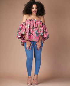 Collection of the most beautiful and stylish ankara peplum tops of 2018 every lady must have. See these latest stylish ankara peplum tops that'll make you stun Latest Ankara Dresses, Ankara Dress Styles, African Print Dresses, African Print Fashion, Africa Fashion, African Fashion Dresses, African Dress, African Prints, African Attire