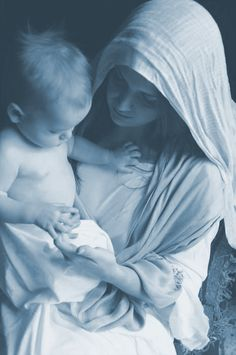 """""""Mary does not replace God. Mary said, """"my soul MAGNIFIES the Lord."""" Meaning that when we go to Mary, we get a bigger, a new, a different perspective of our God."""" - Fr. Celsus"""