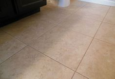 Grouted Vinyl Tile