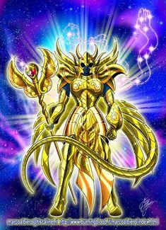 Armure d'or légendaire du Serpentaire