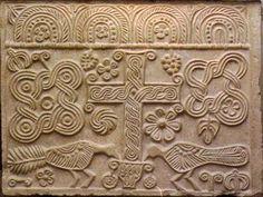 Relief from the Abbey of Villanova, Verona Province, VIII century