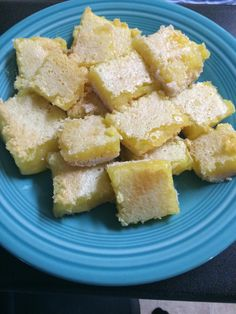 Home made lemon bars :)