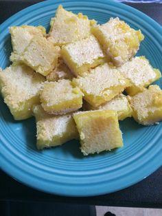 Home made lemon bars :)