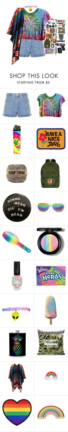 """4365"" by tiffanyelinor ❤ liked on Polyvore featuring Topshop, Hollywood Mirror, Have a Nice Day, Kitson, Boohoo, claire's, Hot Topic, River Island, Chicwish and Orelia"