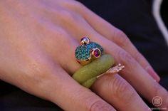 de GRISOGONO Mascote ring, Frog
