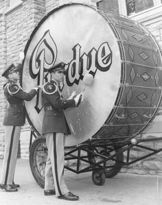 giant bass drum