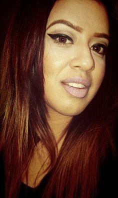 Straight hair # makeupjunkie