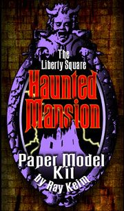 Liberty Square Paper Model Kit Disney Halloween, Halloween Crafts, Crafty Projects, Projects To Try, Halloween Village, Hand Stamped Cards, Adventures By Disney, Mama Elephant, Paper Houses