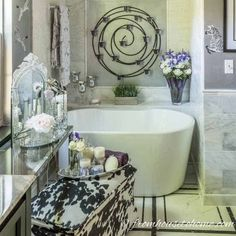 Want to make your house look like a custom home without spending a fortune? Check out these 10 easy ways to make your house look more expensive. Budget Bathroom, Small Bathroom, Bathrooms, Bamboo Bathroom, Wood Bathroom, Bathroom Fixtures, Modern Bathroom, Metal Patio Furniture, New Furniture