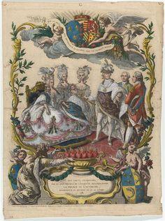 Allegory of the birth of dauphin Louis Joseph, October 22, 1781 image: (C) RMN-Grand Palais (Château de Versailles) / Gérard Blot
