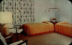 Tamiment-in-the-Poconos, A Typical Guest Room Pennsylvania