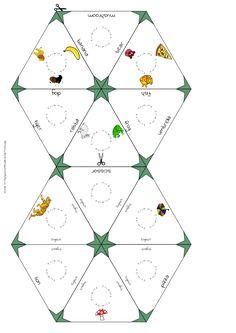 Bevisszük a kívánt elempárokat, és a program generálja a kirakóst. Háromszög, hatszög és csillag minta lehet a végeredmény, könnyű az önellenőrzés.