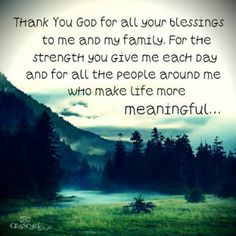 Thank you, God, for EVERYTHING!