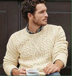 American Model, Justice Joslin, for Next: Sweaters for men