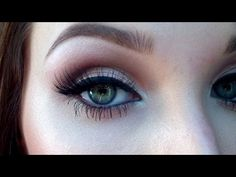 Great, fast Neutral smokey eye tutorial using all that glitters, texture, swiss chocolate, and bit of nylon.  For darker skin tones, layer all that glitters on top of something like nylon or blanc type. She does show doing the rest of her face quickly (including blush & bit of countouring, eyebrows, false lashes, lipstick)