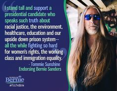Tommy can #FeelTheBern