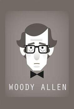 """""""Woody Allen"""" Su particular sentido del humor se ve plasmado en su arte cinematográfico. Ha sido ganador de más de 78 premios gracias a sus obras Annie Hall, Midnight in Paris y To Rome with Love.  #OjoCinematográfico #Cine #Directores #Películas #UCSG #ComunicaciónSocial"""