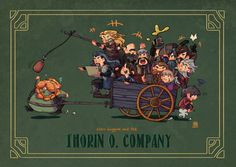 OMIGOSH! Props to the artist! I laughed so hard I almost cried! Nailed everyone! Poor Bombur. :P