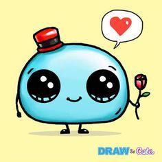 Mochi Mochi Draw So Cute draw so cute - Drawing Tips Easy Doodles Drawings, Cute Food Drawings, Cute Disney Drawings, Mini Drawings, Cartoon Drawings, Kawaii Doodles, Kawaii Chibi, Kawaii Art, So Cute Images