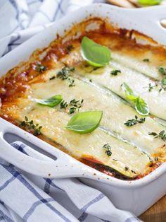 Lasagne de courgettes