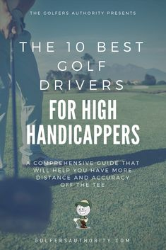 Are you a high handicapper, looking for the best golf driver. We are here to help! Check out our latest buyers guide to find the right driver for you. Adidas Golf Shoes, Golf Score, Best Golf Clubs, Golf Day, Golf Umbrella, Golf Drivers, Golf Instruction, Golf Putting, Golf Exercises