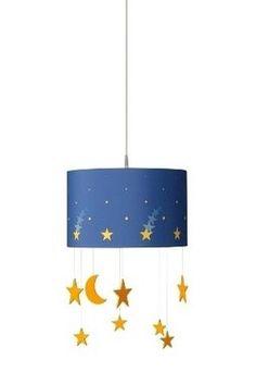 Dětský lustr 40426/35/16, #chandelier #night #stars #ceiling #children #kid #kids #baby #boy #girl #led #philips