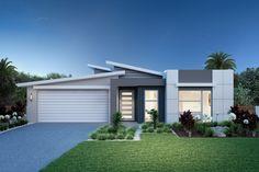 Bridgewater Home Designs in Sydney - North (Brookvale) Modern House Facades, Modern Architecture House, Architecture Details, Interior Architecture, Contemporary House Plans, Modern House Plans, Modern Villa Design, Home Design, Facade Design