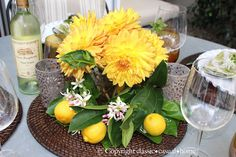 rough luxe Mary Ann Pickett Classic Casual Home Yellow Centerpieces, Table Centerpieces, Table Decorations, Soul Design, Beautiful Table Settings, Autumn Inspiration, Tablescapes, Fall Decor, Farmhouse Decor