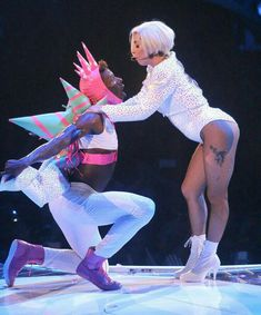 Yes, one outfit includes her birthday suit. Setlist included at the bottom. Lady Gaga Artrave, Lady Gaga Artpop, Lady Gaga Images, Lady Gaga Pictures, Her Music, Good Music, Lady Gaga 2014, Pop Art, Celebs