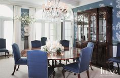 A home in Greenwich is imbued with new life through a rich color palette and varying textural and layered elements.