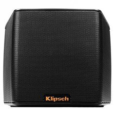 Klipsch Groove Portable Bluetooth Speaker (Black)  The Groove portable Bluetooth® speaker is designed to bring big sound wherever the road takes you. Leveraging 70 years of audio technology, this little speaker sounds bigger than any of its rivals. With an insanely powerful 3″ full range high excursion driver complemented by two side-firing passive bass radiators, and advanced DSP equalization, the Klipsch Groove speaker provides lifelike, dynamic sound at any volume level. With an i..