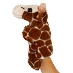 Cute Animal Glove Puppet Hand Doll Plush Toy Deer #CLICK! #clothing, #shoes, #jewelry, #women, #men, #hats