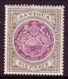 Issues of 1903 - Antigua