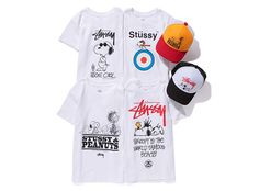 Stussy x Peanuts Capsule Collection  (kids only)