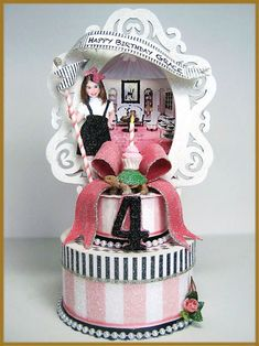 """Eloise At The Plaza"" Inspired Cake Topper Image"