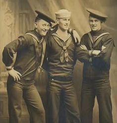 Sailor boys, circa WWI