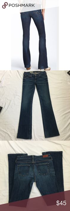 AG Adriano Goldschmied Angel BootCut Jeans Size 25 Ag Adriano Goldschmied The Angel BootCut medium wash jeans. Excellent condition. Size 25. 98% cotton/2%PU. Please see pictures for all measurements. Ag Adriano Goldschmied Jeans Boot Cut