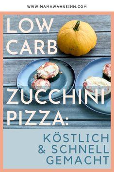 Pizza, Pizza... Ein köstliches Rezept aus Zucchini. Die Low Carb Zucchini Pizza ist ein rasches & gesundes Blitzrezept, das sogar die Kinder als Alternative zur Pizza gerne essen. Low Carb Pizza #kochenmitkindern #familienrezepte #lowcarb #zucchini #zucchinirezepte Zucchini Pizzas, Low Carb, Pizza Pizza, Vegan Recipes For Kids, Kid Cooking, Kid Friendly Recipes, Sugar Free Recipes, Healthy Dishes, Eat Lunch
