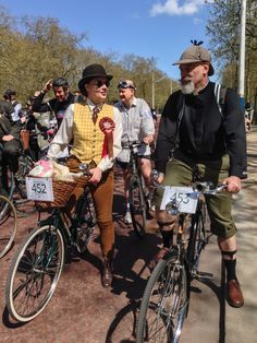 The Tweed Run, London, Apr, 2015.
