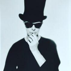 David Bowie pic by Enrique Badulescu https://twitter.com/davidbowie_news/status/703385833907347456