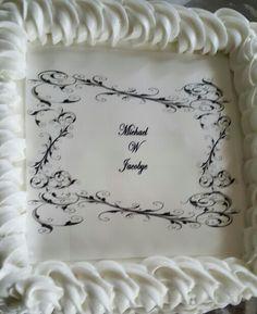 Vanilla Creme Bouquet Cake