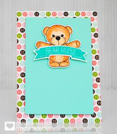 Bear Hugs | Clearly Besotted Stamps