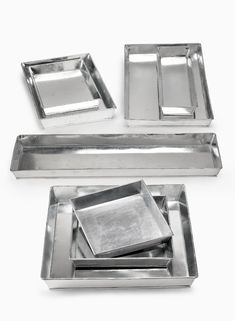10in Square Zinc Tray