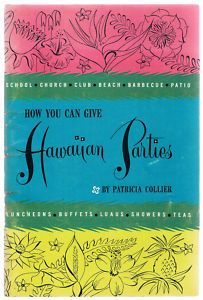 How you can give HAWAIIAN PARTIES cookbook