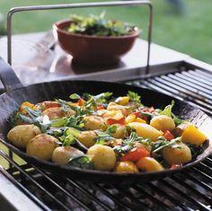 Rezept: Kartoffelpfanne - [LIVING AT HOME]