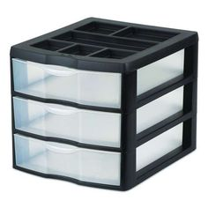 Sterilite Medium 3 Drawer Desktop Storage Unit / 20439002 , #Sterilite, #20439002