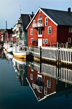 Henningsvær in the Lofoten archipelago, Nordland fylke | Norway