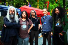 """Acid Mothers Temple & the Melting Paraiso UFO are the quintessential post-modern psychedelic rock experience. Formed in Nagoya in 1995, they are the brainchild of Makoto Kawabata, a fearsomely talented musician who'd previously earned his spurs as the """"Motor Psycho"""" guitarist gunslinger for legendary acid rockers Mainliner and Musica Transonic. The central concept of AMT remains Kawabata's notion of 'trip music'."""