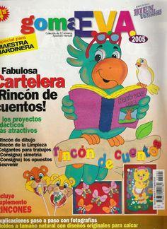 Revistas de manualidades Gratis: Manualidades para maestras de jardin en foamy